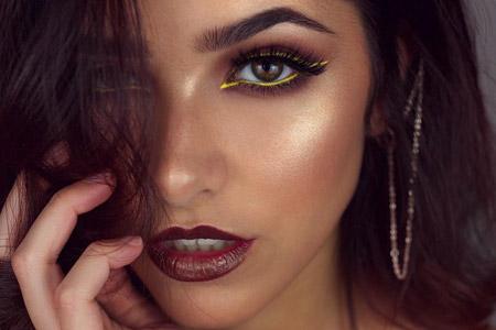 مدل آرایش شب و مجلسی 13