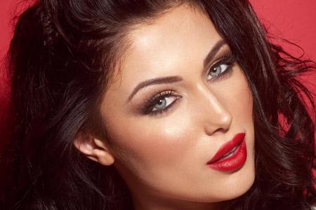 آرایش برای انواع چهره ها 7