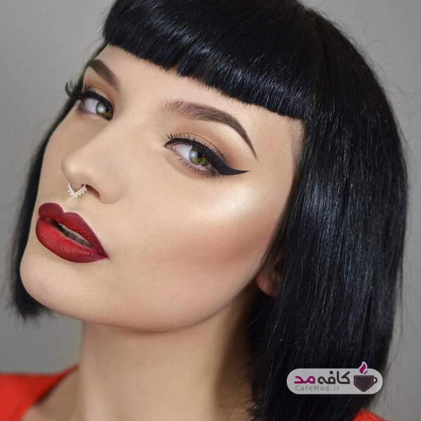 مدل آرایشی فشن جدید