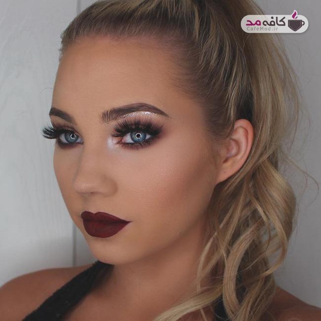 مدل آرایش شیک 2017