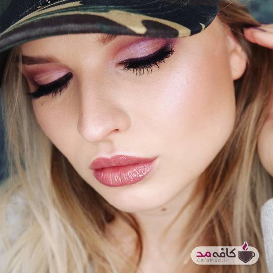 مدل آرایش براق