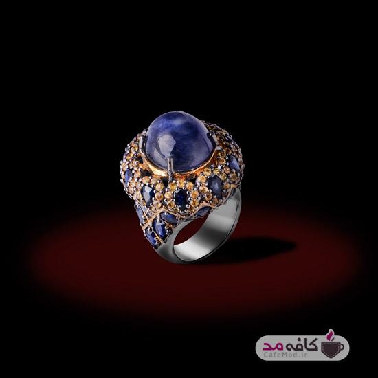 مدل جواهرات سنگی قیمتی
