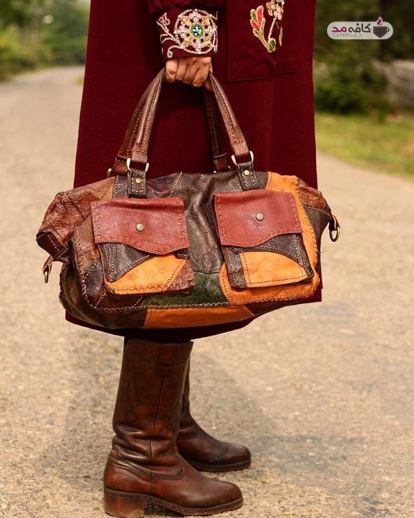 کیف چرم دست دوز ژوان