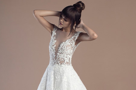 مدل لباس عروس 2017 Tony Ward 10