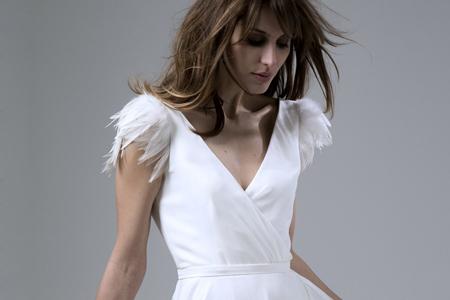 مدل لباس عروس ساده 13