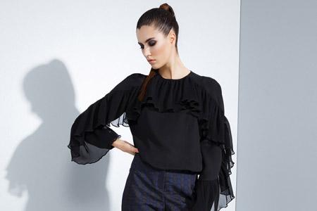 مدل لباس مجلسی مشکی 2017 10