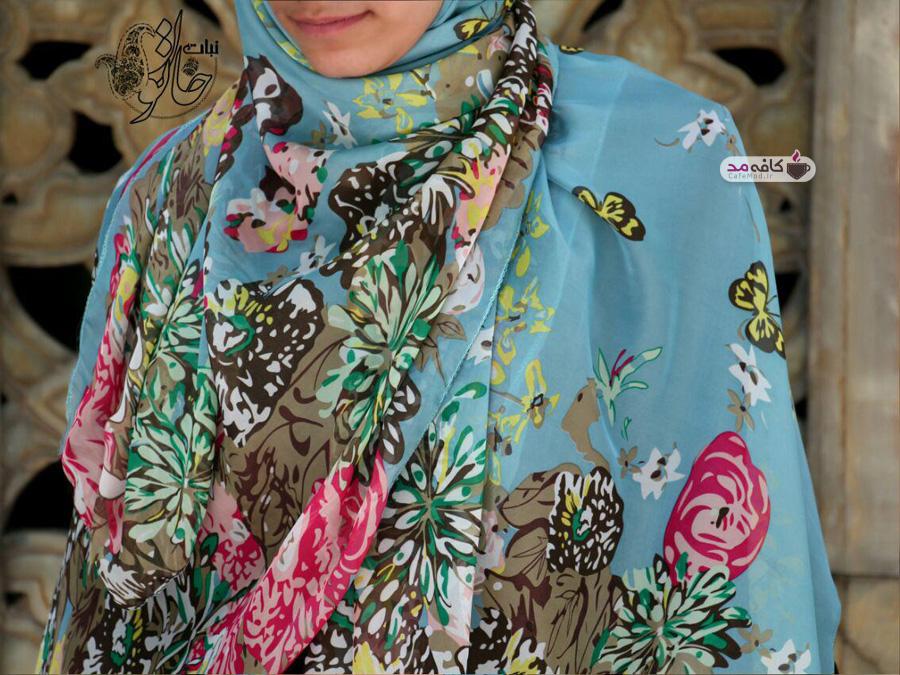 مدل روسری های نبات خاتون
