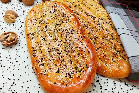 نان بربری خونگی