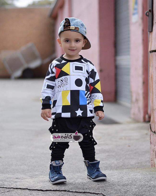 مدل لباس اسپورت پسرانه