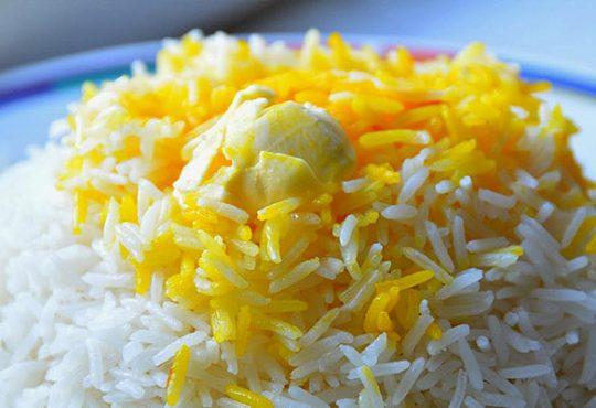 ترفند پخت و دم کردن برنج مجلسی 1