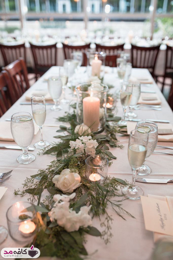 تشرفات چیدمان میز غذا برای مهمانی