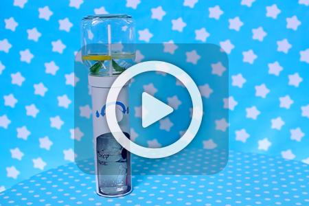 فیلم آموزش درست کردن آب ریز با قوطی چیپس