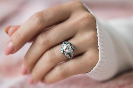 مدل های انگشتر زنانه بسیار زیبا 10