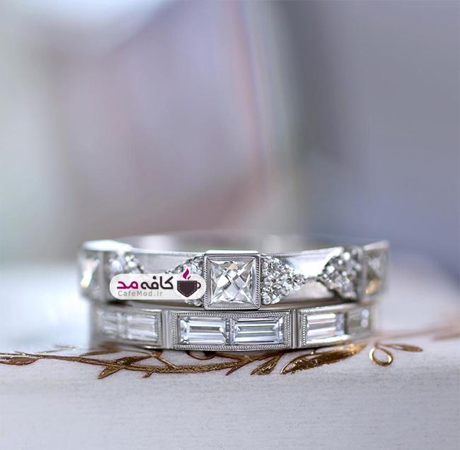مدل های بسیار زیبا از انگشترهای نقره