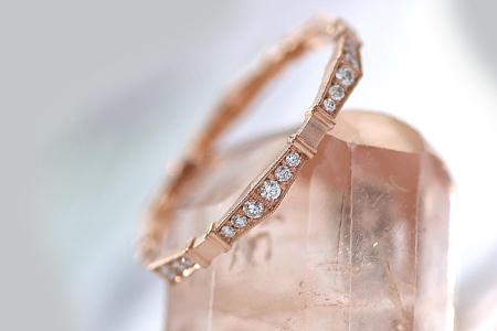 مدل های زیبا از حلقه های نامزدی طلا 10
