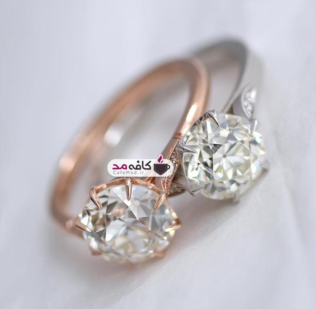 مدل های زیبا از حلقه های نامزدی طلا