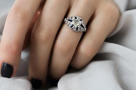 مدل انگشتر زنانه بسیار زیبا 10