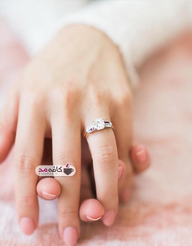 مدل انگشتر زنانه بسیار زیبا