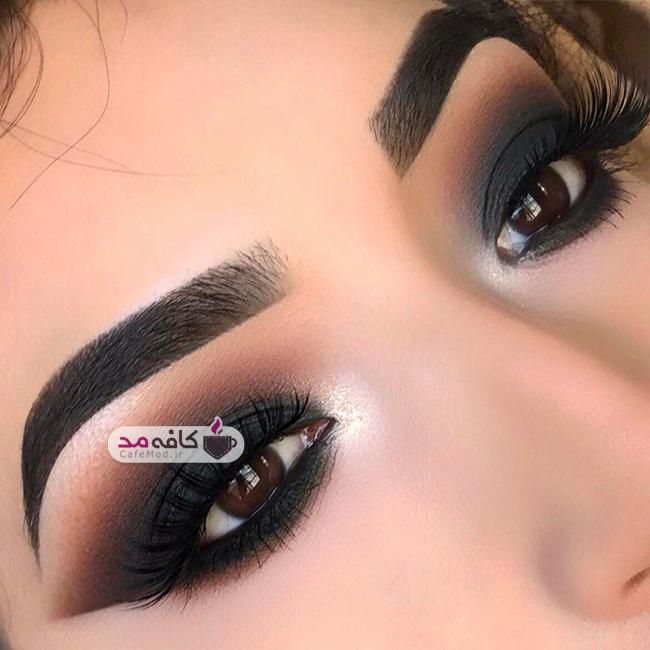 مدل آرایش چشم عروس 2017
