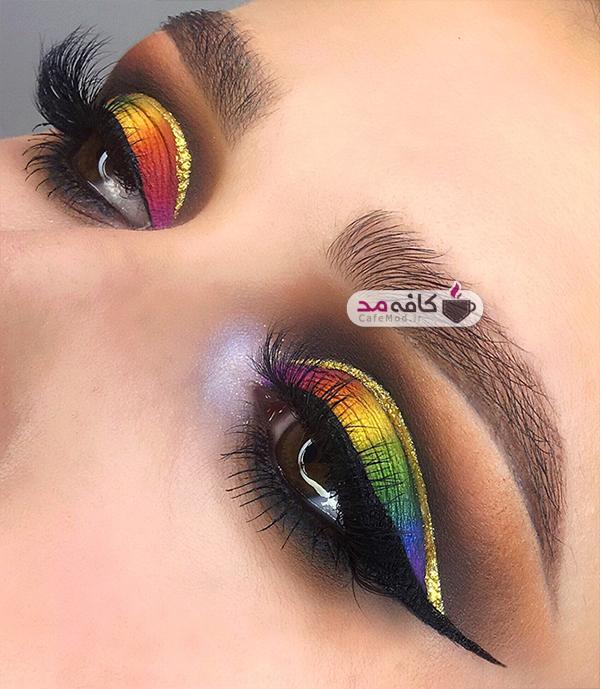 مدل های زیبا از آرایش چشم 2017