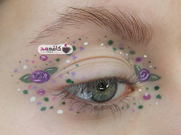 مدل های آرایش چشم 2017