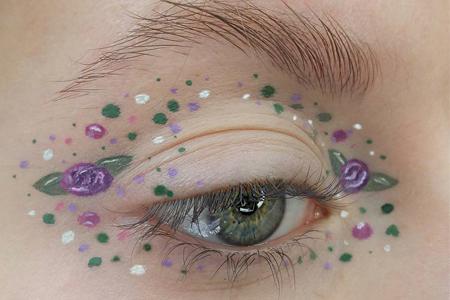 مدل های آرایش چشم 2017 10