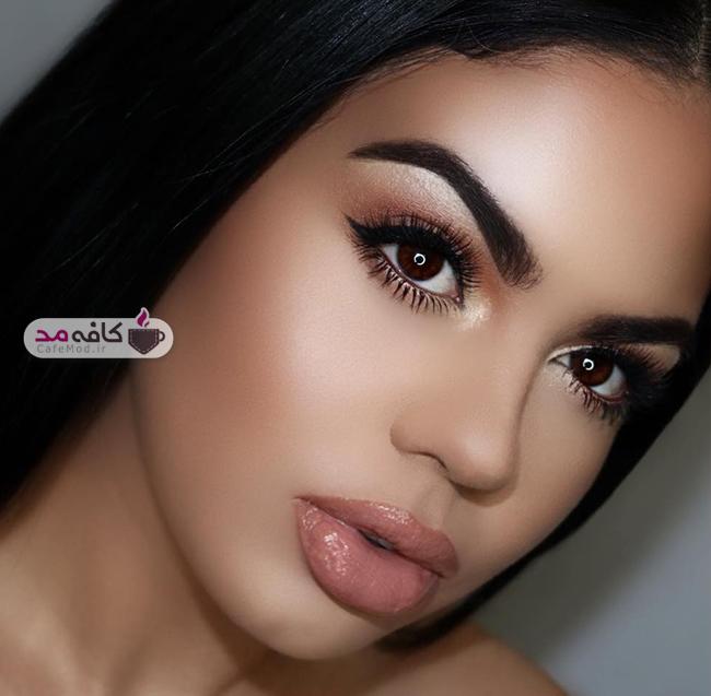 مدل های بسیار زیبا از آرایش صورت
