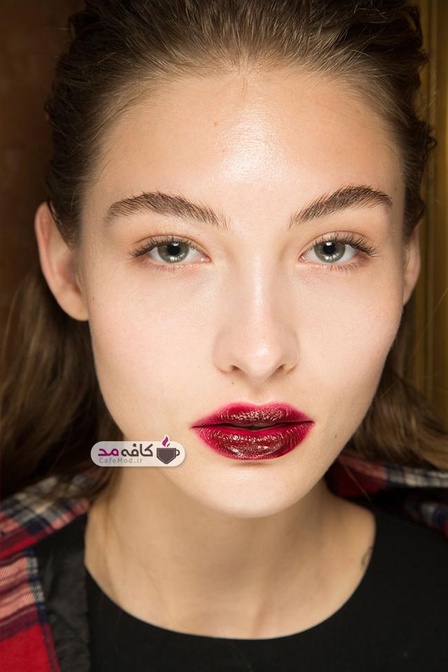 مدل های آرایش و زیبایی 2017