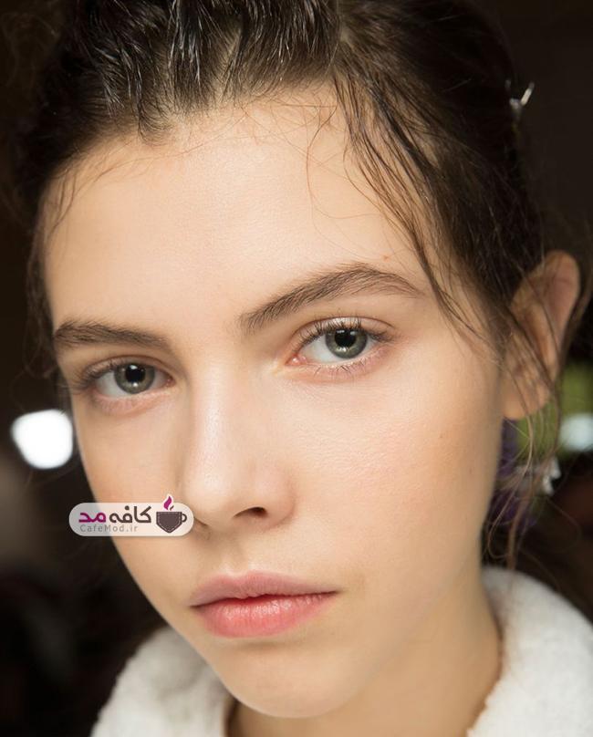 مدل های آرایش ملایم صورت و ابرو