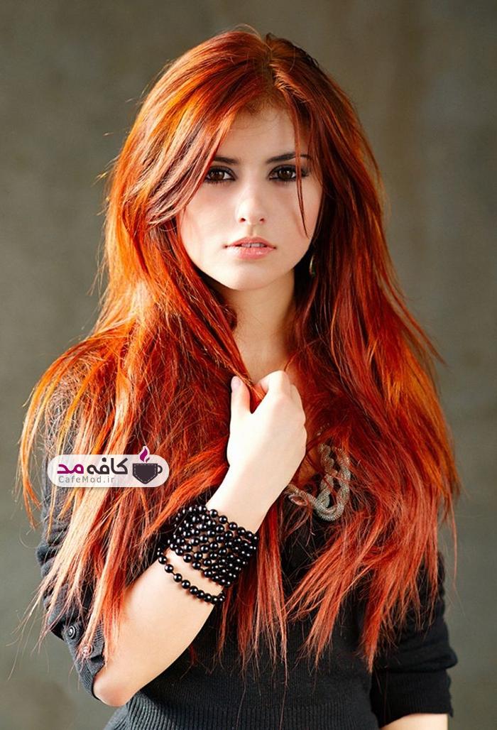رنگ مناسب برای هایلایت مو
