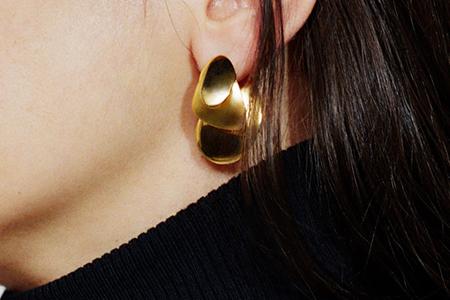 مدل گوشواره و گردنبند طلای Sia Taylor 6