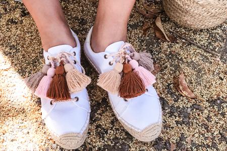 آموزش درست کردن و تزیین بند کفش 2