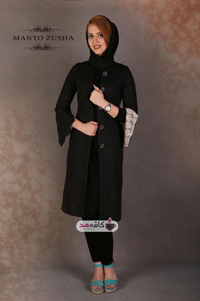 مدل مانتو ایرانی برند زوشا
