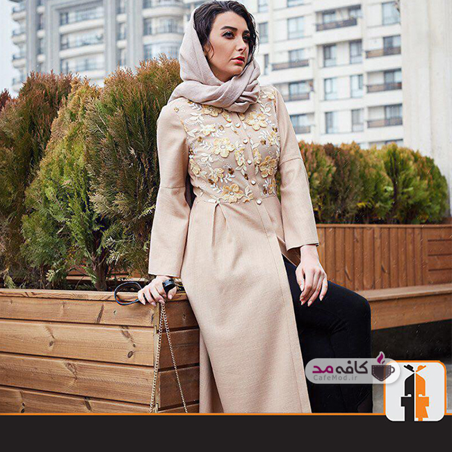 مدل مانتو زنانه برند ایرانی Indo