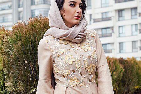 مدل مانتو زنانه برند ایرانی Indo 10