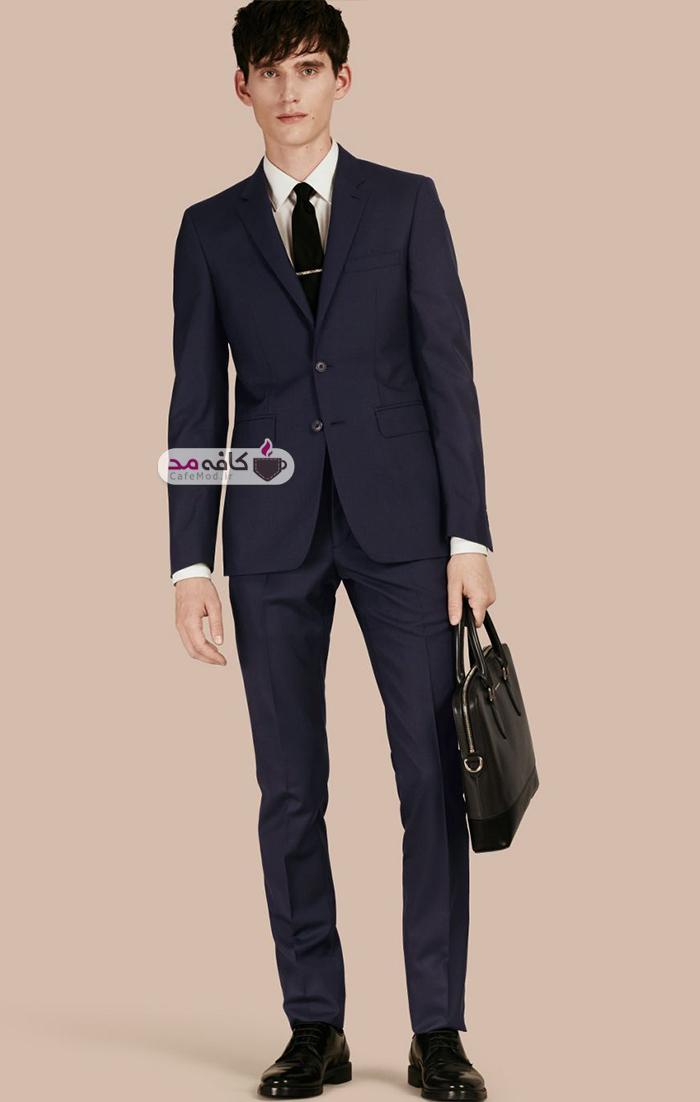مدل کت و شلوار مردانه Burberry