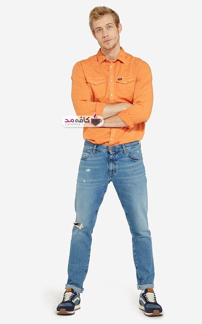 مدل شلوار جین مردانه Wrangler