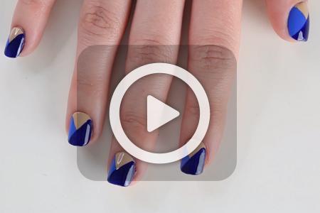 فیلم آموزش آرایش روی ناخن