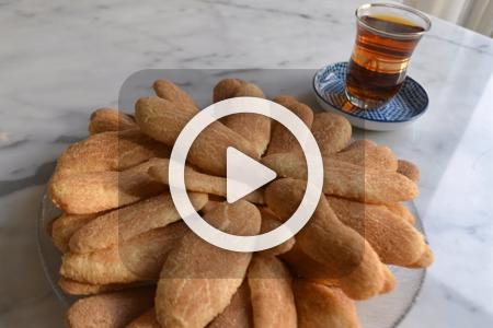فیلم طرز درست کردن شیرینی دارچینی
