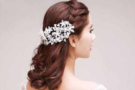 مدل های بسیاز زیبا از گل سرهای عروس 10