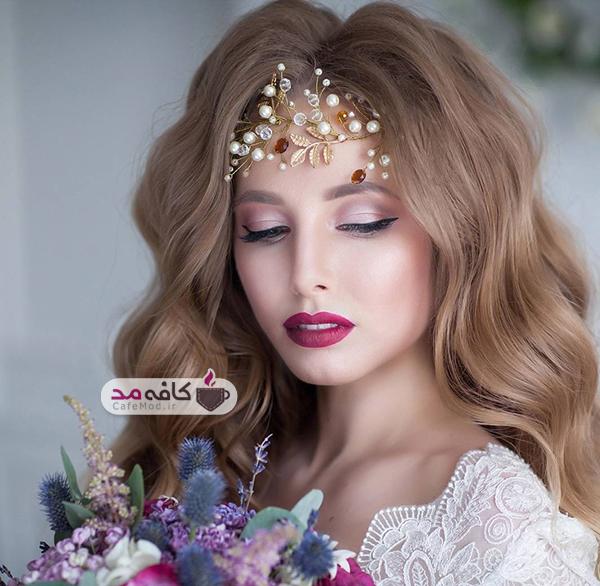 مدل های بسیار زیبا تاج عروس