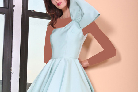 مدل لباس زنانه Christian Siriano 1