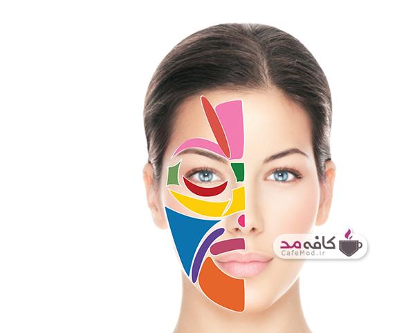 جوش در نقاط مختلف صورت و درمان آنها