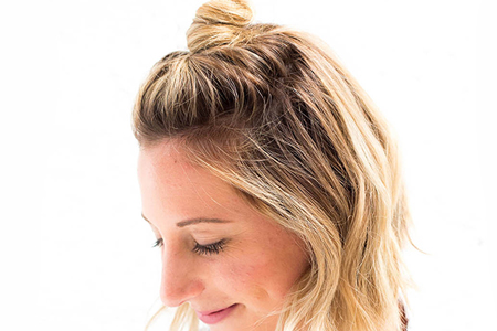 آموزش تصویری مدل مو گوجه ای جدید 2