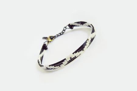 آموزش تصویری ساخت دستبند با سیم 2