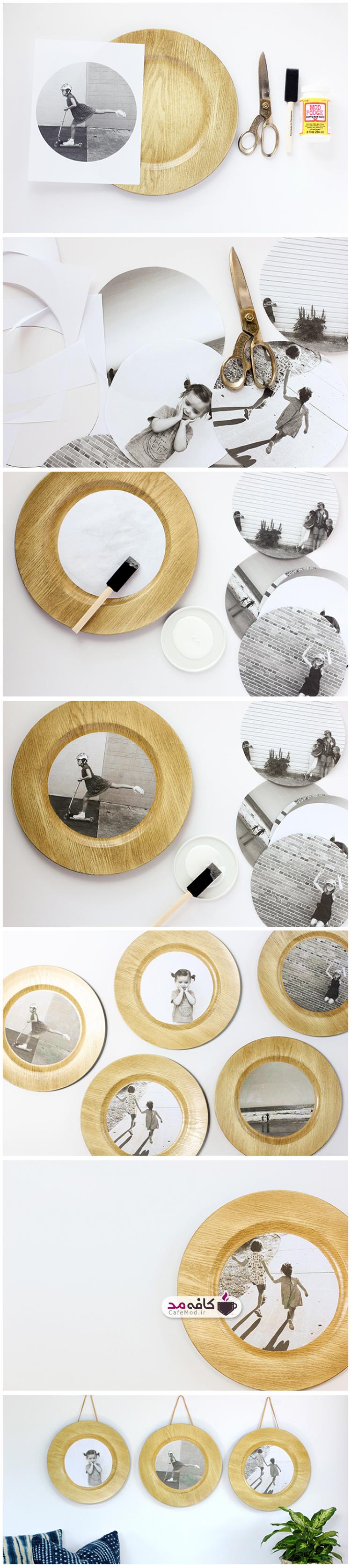 آموزش درست کردن قاب عکس چوبی