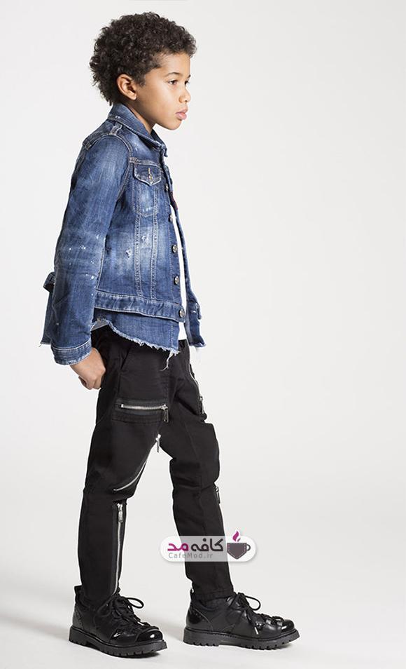 مدل لباس دخترانه و پسرانه DSQUARED2