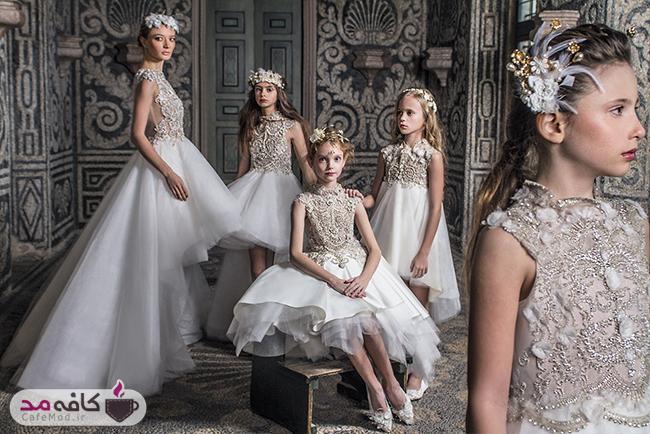مدل لباس شیک و مجلسی دخترانه