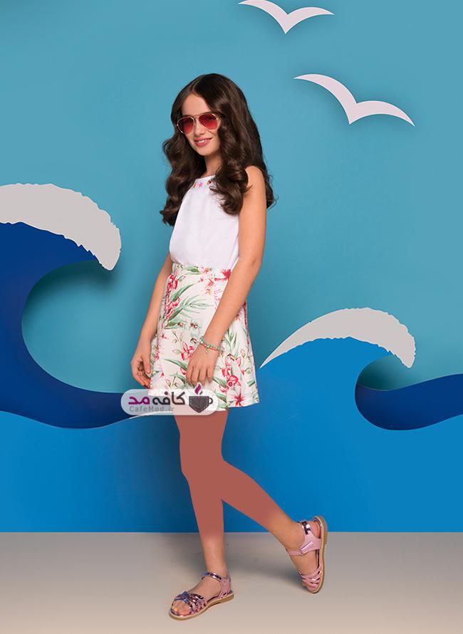 مدل لباس دخترانه تابستانه Gloria Jeans