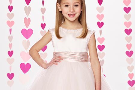مدل لباس عروس دخترانه Moncheri 10